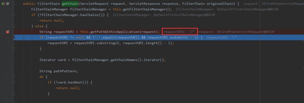 Apache Shiro权限绕过漏洞分析(CVE-2020-11989)