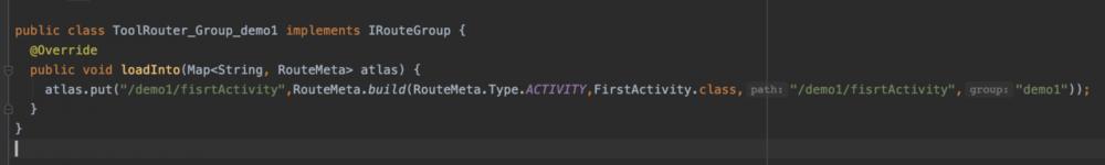 仿写Arouter框架实现Activity的跳转