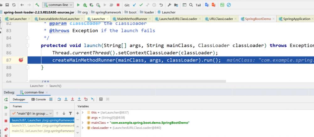深入解析SpringBoot java-jar命令行启动原理