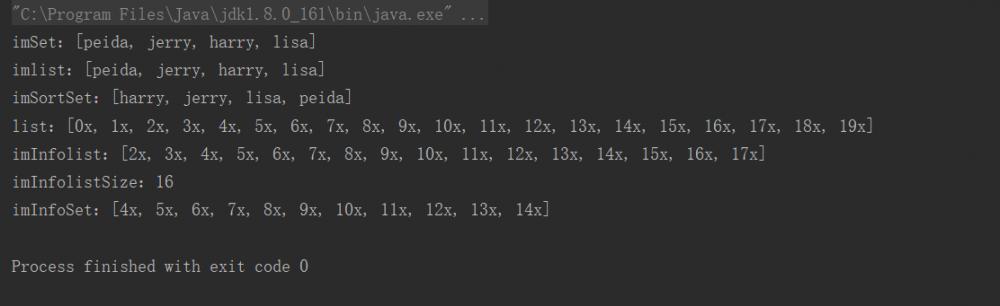 Guava集合--Immutable(不可变)集合